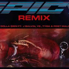 "Ty Dolla $ ign添加YG,Tyga,& 巴尔文 To ""Spicy (Remix)"""