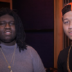"""Lil Bibby & Young Chop In The Lab Working On """"Free Crack 2"""""""