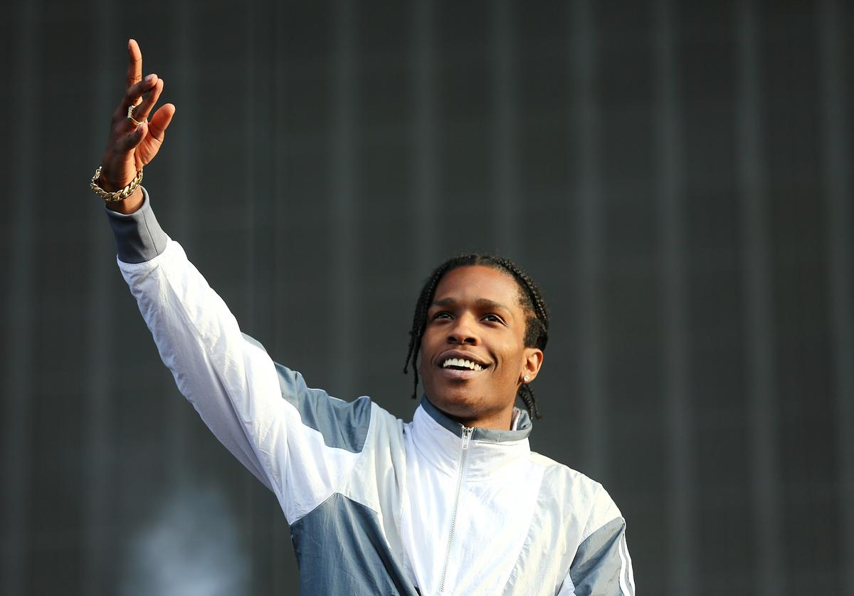 ASAP Rocky performs on day 1 of the New Look Wireless Festival at Finsbury Park on July 3, 2015 in London, England.