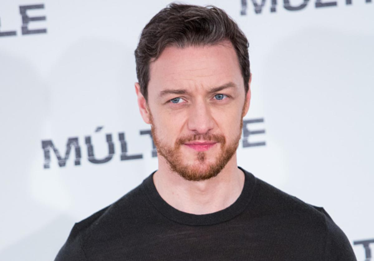 Actor James McAvoy attends 'Multiple' ('Split') photocall on January 12, 2017 in Madrid, Spain.