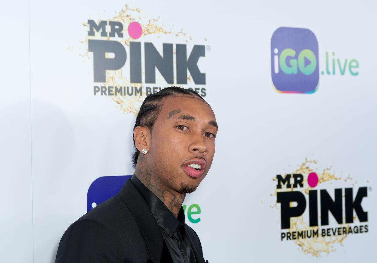 Rapper Tyga arrives for the iGo.live Launch Event at the Beverly Wilshire Four Seasons Hotel on July 26, 2017 in Beverly Hills, California.