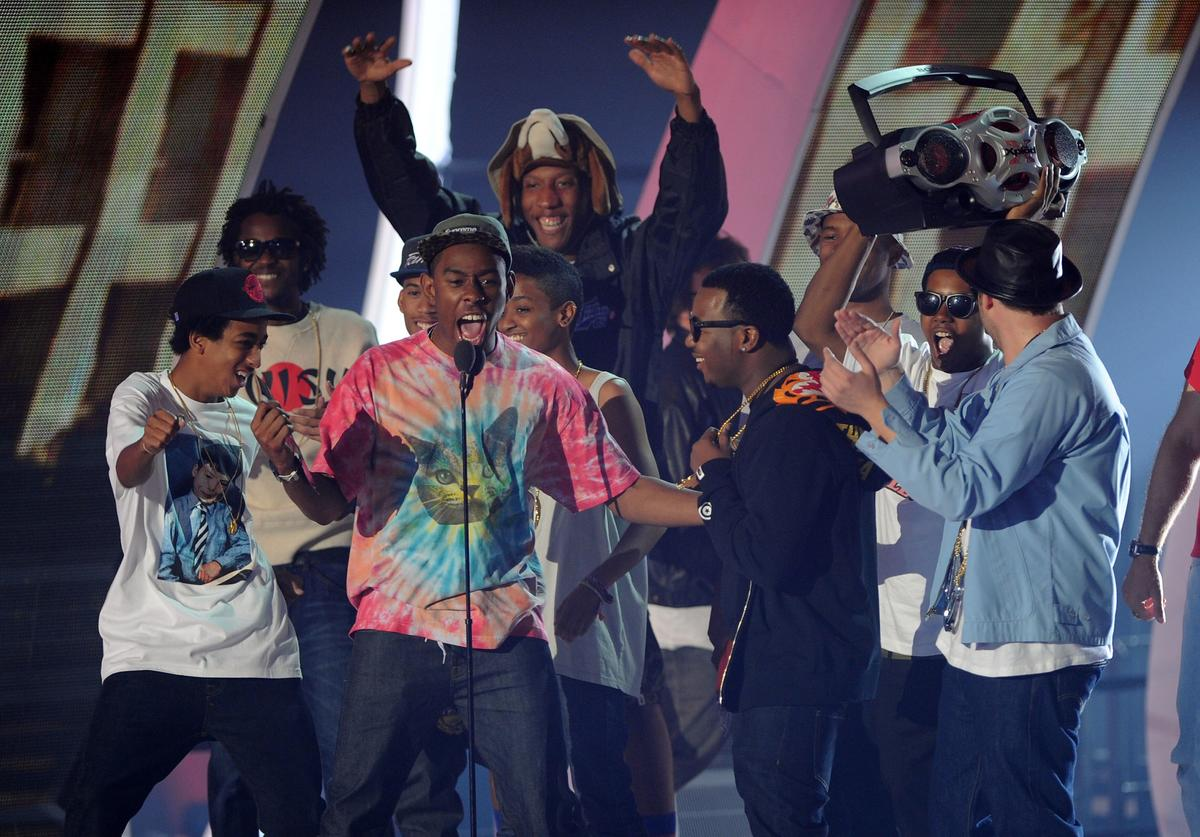 Odd Future at 2011 MTV Video Music Awards