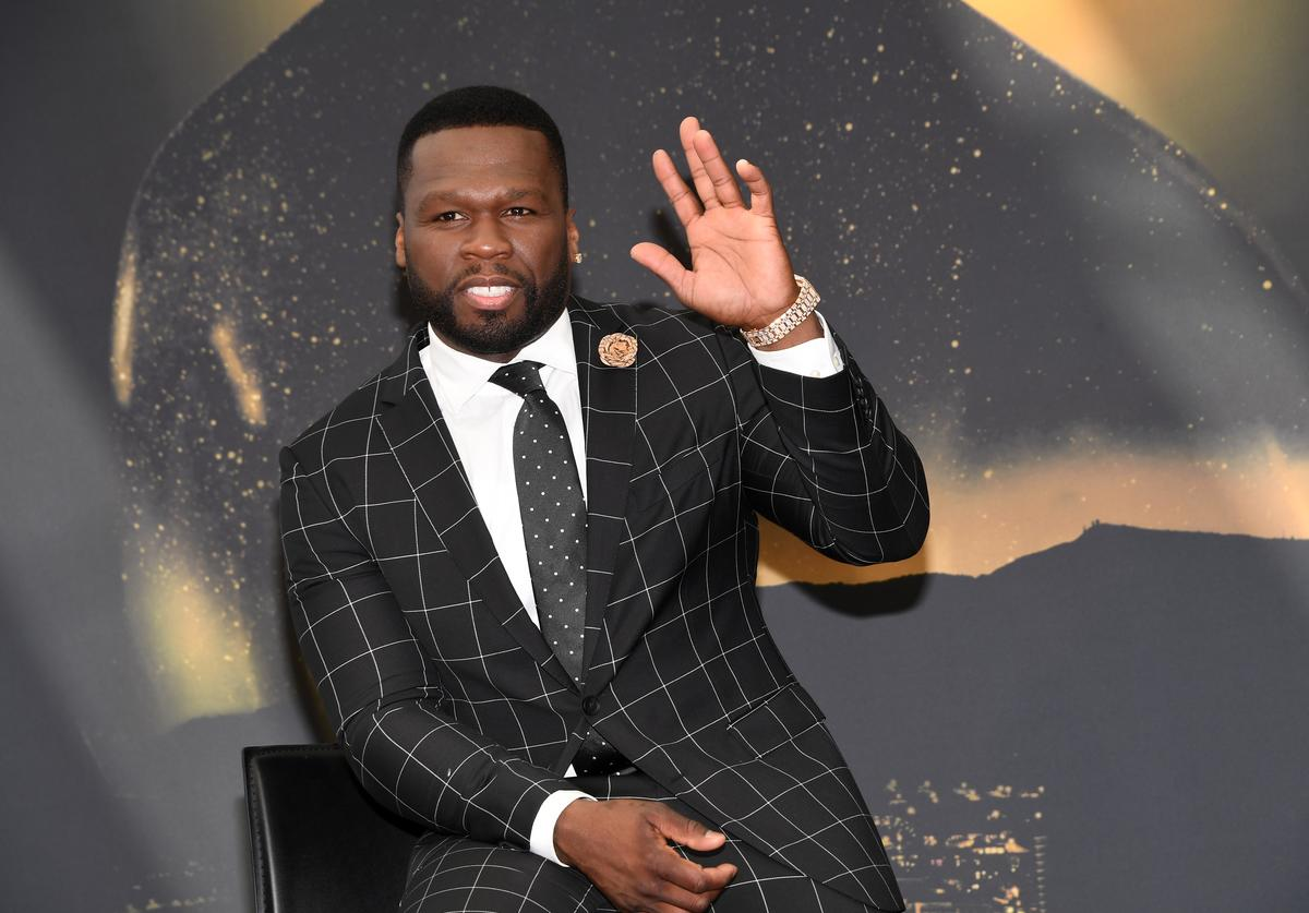 Curtis '50 Cent' Jackson from 'Power' attends a photocall during the 57th Monte Carlo TV Festival : Day 5 on June 20, 2017 in Monte-Carlo, Monaco