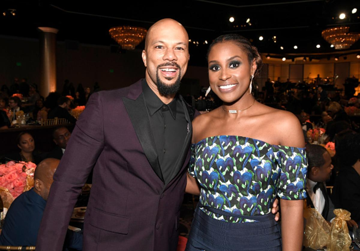 Actor Common (L) and honoree Issa Rae attend BET Presents the American Black Film Festival Honors on February 17, 2017 in Beverly Hills, California