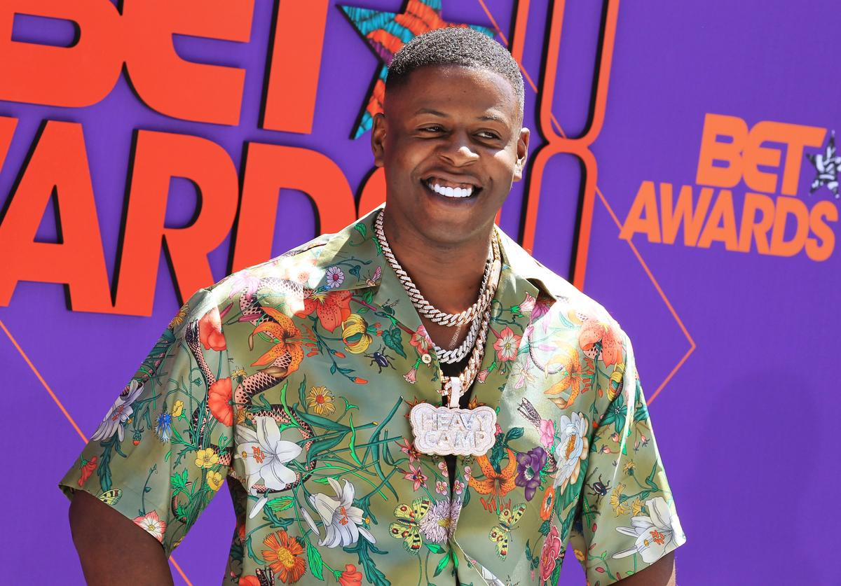 Blac Youngsta attends the 2018 BET Awards at Microsoft Theater on June 24, 2018 in Los Angeles, California.