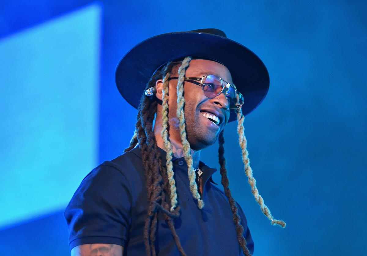 Ty Dolla Sign performs with Ella Mai at 2018 BET Experience Staples Center Concert, sponsored by COCA-COLA, at L.A. Live on June 22, 2018 in Los Angeles, California.