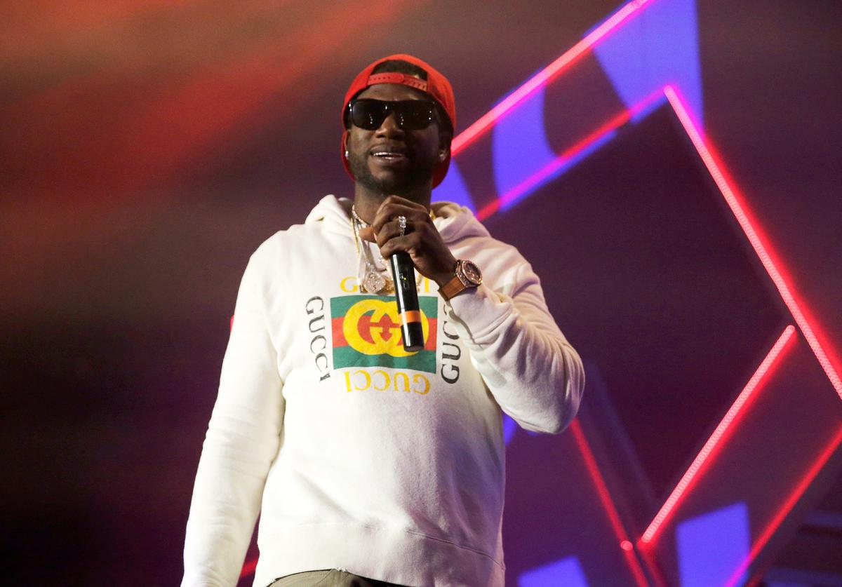 Gucci Mane performs onstage during Spotify's RapCaviar Live in Houston at Revention Music Center on December 14, 2017 in Houston, Texas.