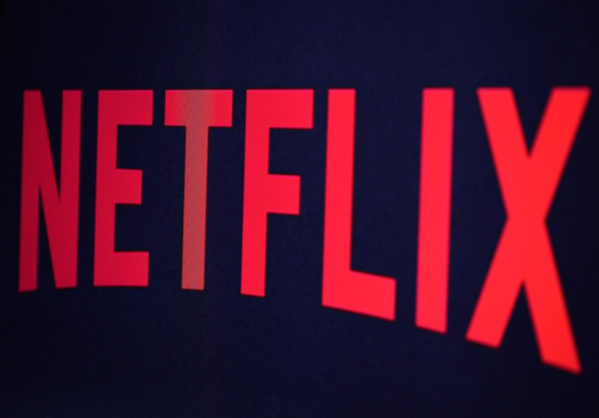 In this photo illustration the Netflix logo is seen on September 19, 2014 in Paris, France. Netflix September 15 launched service in France, the first of six European countries planned in the coming months.