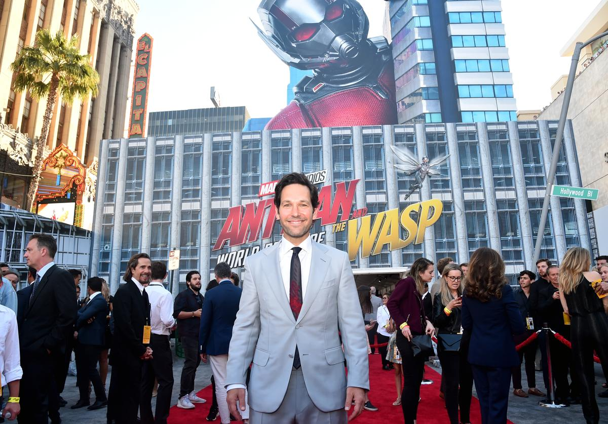Actor Paul Rudd attends the Los Angeles Global Premiere for Marvel Studios' 'Ant-Man And The Wasp' at the El Capitan Theatre on June 25, 2018 in Hollywood, California.