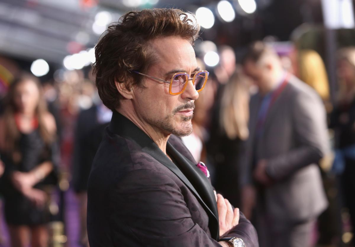 Actor Robert Downey Jr. attends the Los Angeles Global Premiere for Marvel Studios' Avengers: Infinity War on April 23, 2018 in Hollywood, California.