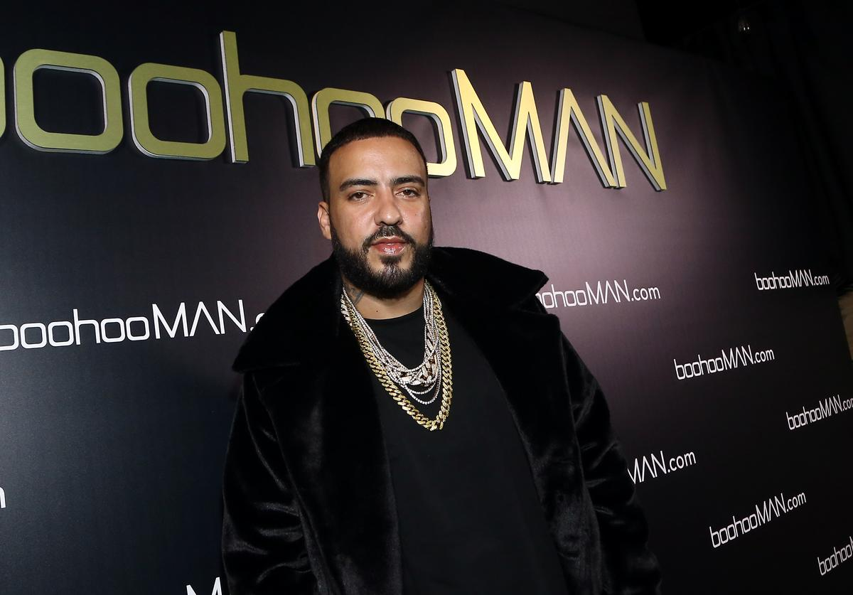 French Montana attends French Montana's boohooMAN Party at Poppy on April 11, 2018 in Los Angeles, California.