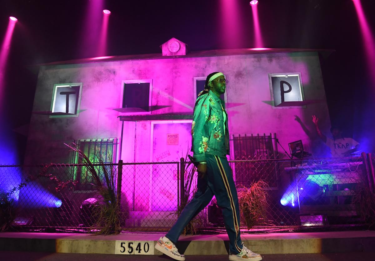 2 Chainz perfroms onstage at night four of the Late Night Concert during the 2017 BET Experience at The Novo by Microsoft on June 25, 2017 in Los Angeles, California