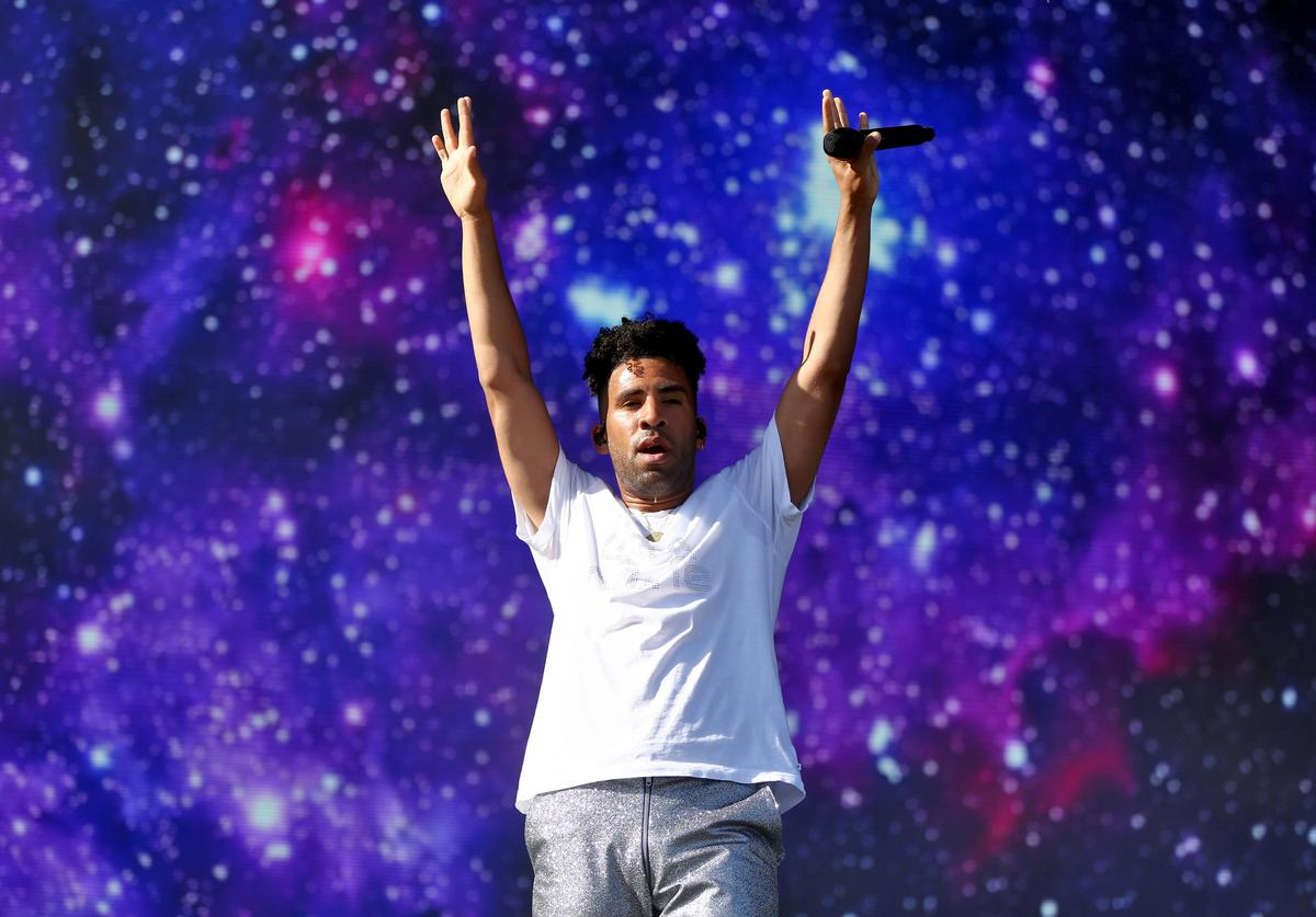SuperDuperKyle performs onstage during the 2018 Coachella Valley Music And Arts Festival at the Empire Polo Field on April 20, 2018 in Indio, California.