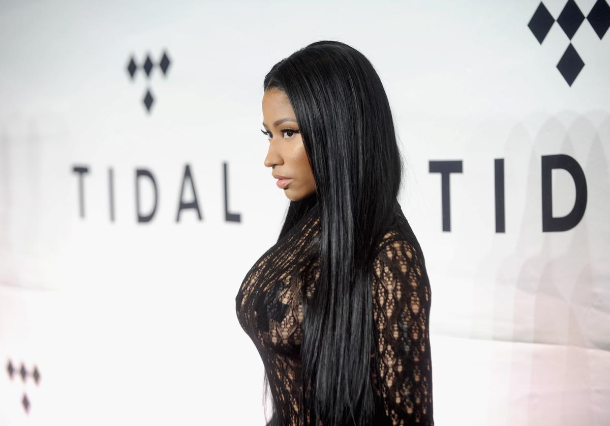 Nicki Minaj attends TIDAL X: 1015 on October 15, 2016 in New York City