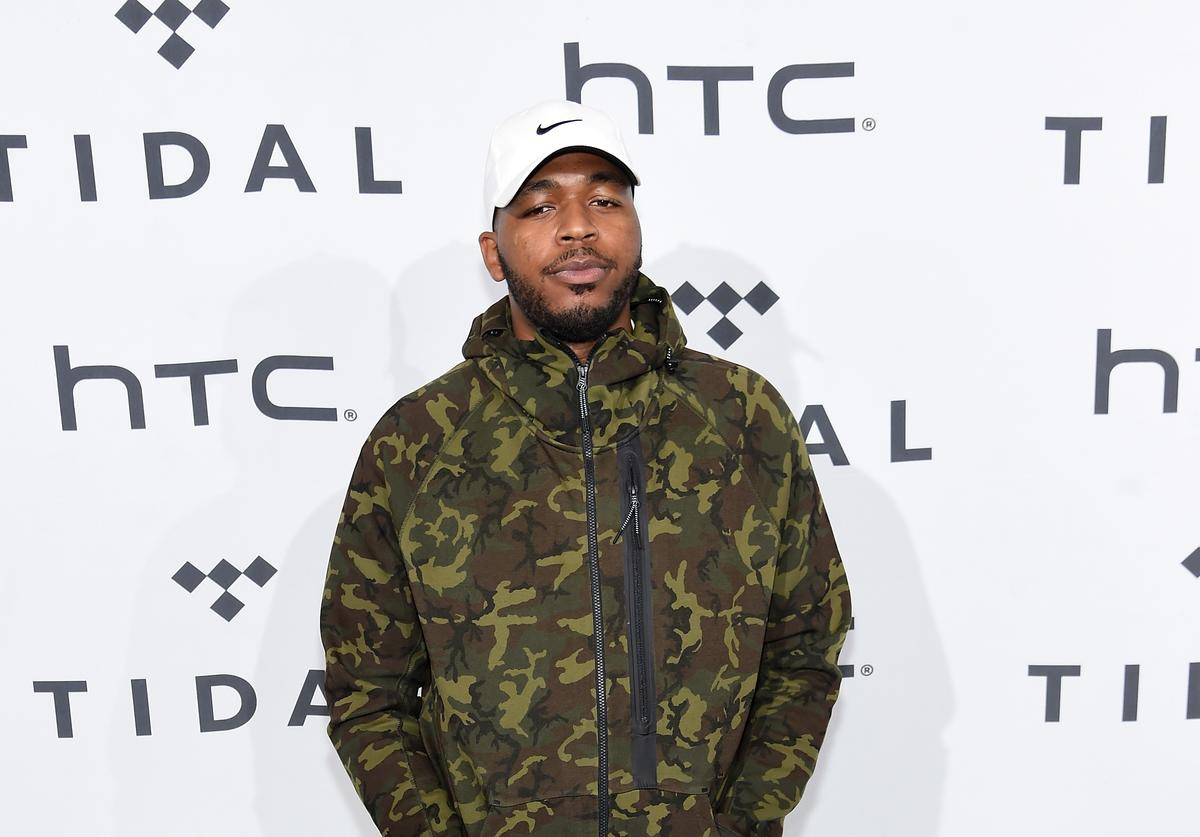 Quentin Miller attends TIDAL X: 1020 Amplified by HTC at Barclays Center of Brooklyn on October 20, 2015 in New York City