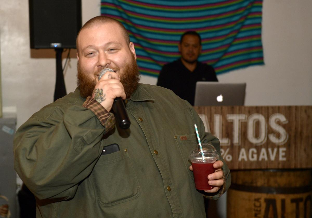 Action Bronson on April 17, 2018 in Los Angeles, California