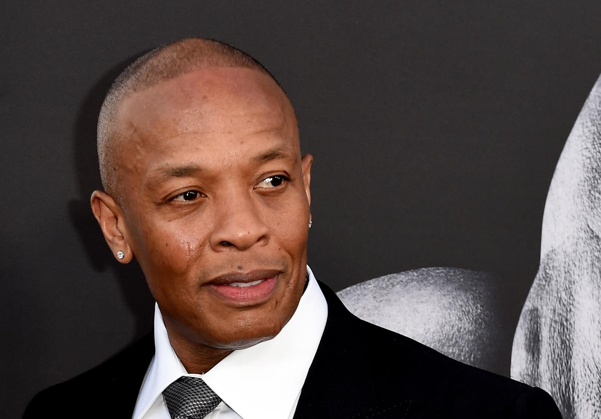 Producer Dr. Dre arrives at the premiere screening of HBO's 'The Defiant Ones' at Paramount Studios on June 22, 2017 in Los Angeles, California.