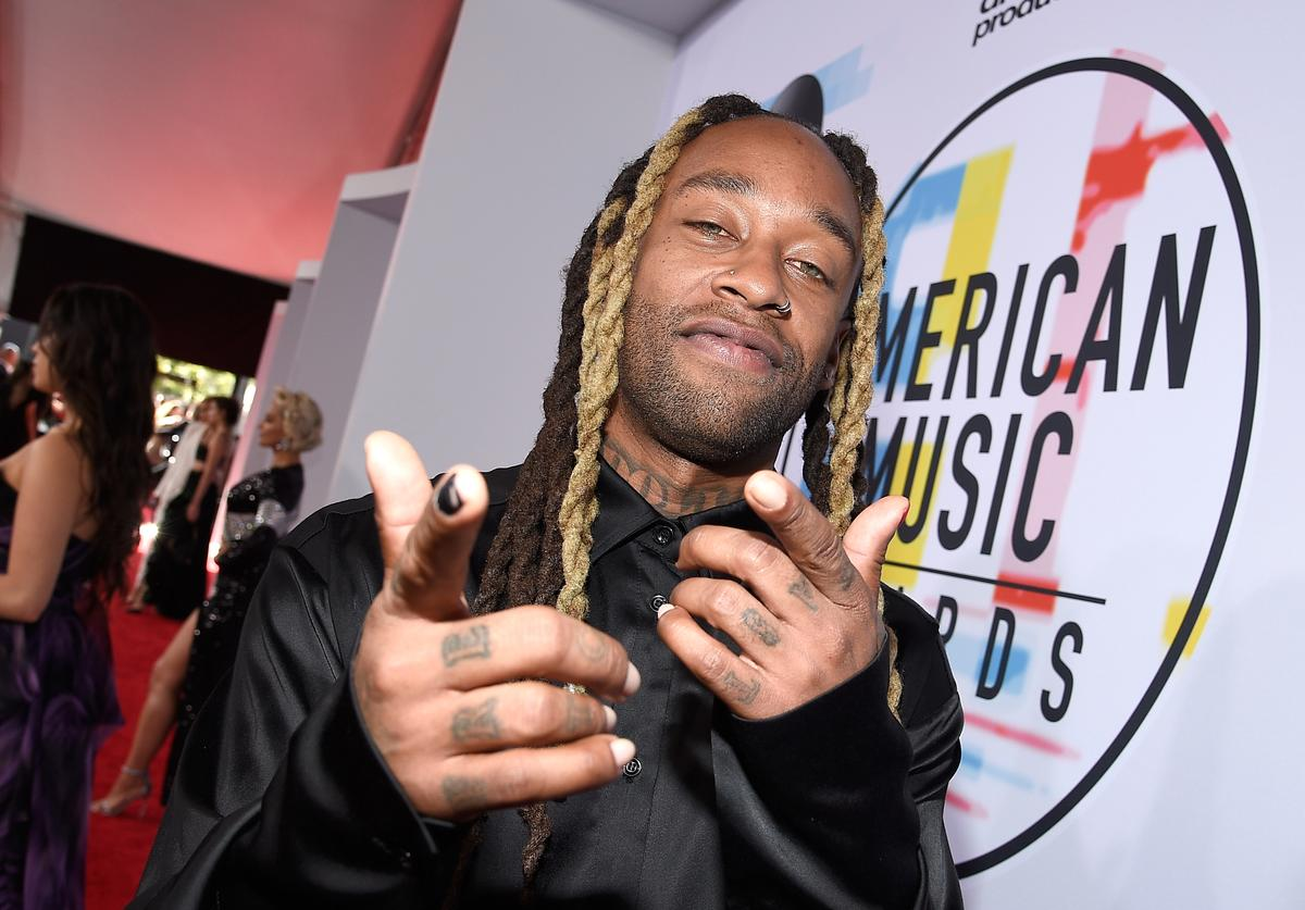 Ty Dolla Sign attends the 2018 American Music Awards at Microsoft Theater on October 9, 2018 in Los Angeles, California.