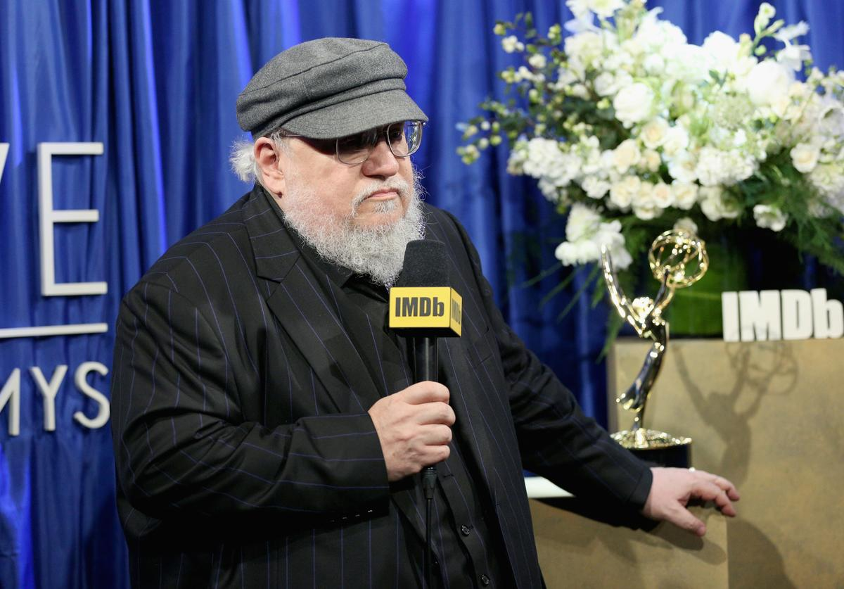 George R. R. Martin, winner of Outstanding Drama Series for 'Game of Thrones', attends IMDb LIVE After The Emmys 2018 on September 17, 2018 in Los Angeles, California