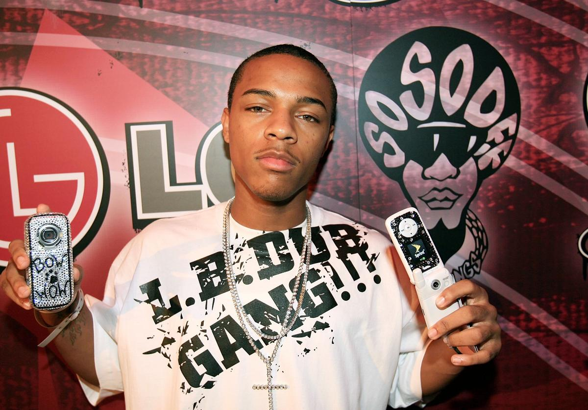Bow Wow attends the LG and Jermaine Dupri?s Fusic Party for BET on June 27, 2006 in Los Angeles, California
