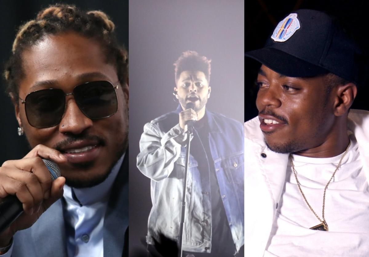 Future, Boogie, The Weeknd