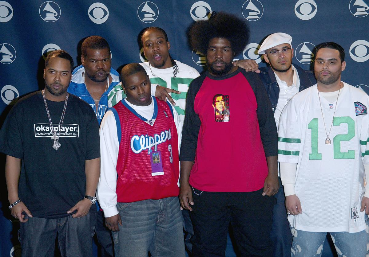 The Roots at the 45th annual Grammy awards