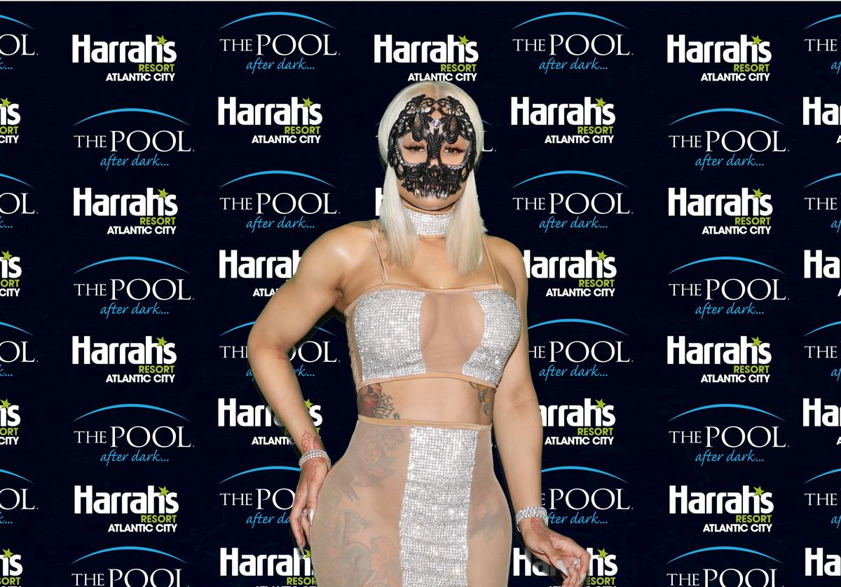 Angela Renée White, professionally known as Blac Chyna hosts The Pool After Dark at Harrah's Resort on Saturday October 28, 2017 in Atlantic City, New Jersey