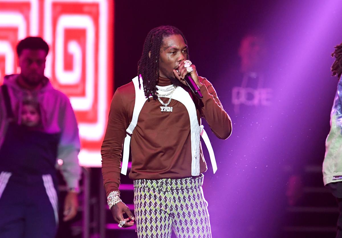 et of Migos perform onstage during Bud Light Super Bowl Music Fest / EA SPORTS BOWL at State Farm Arena on January 31, 2019 in Atlanta, Georgia