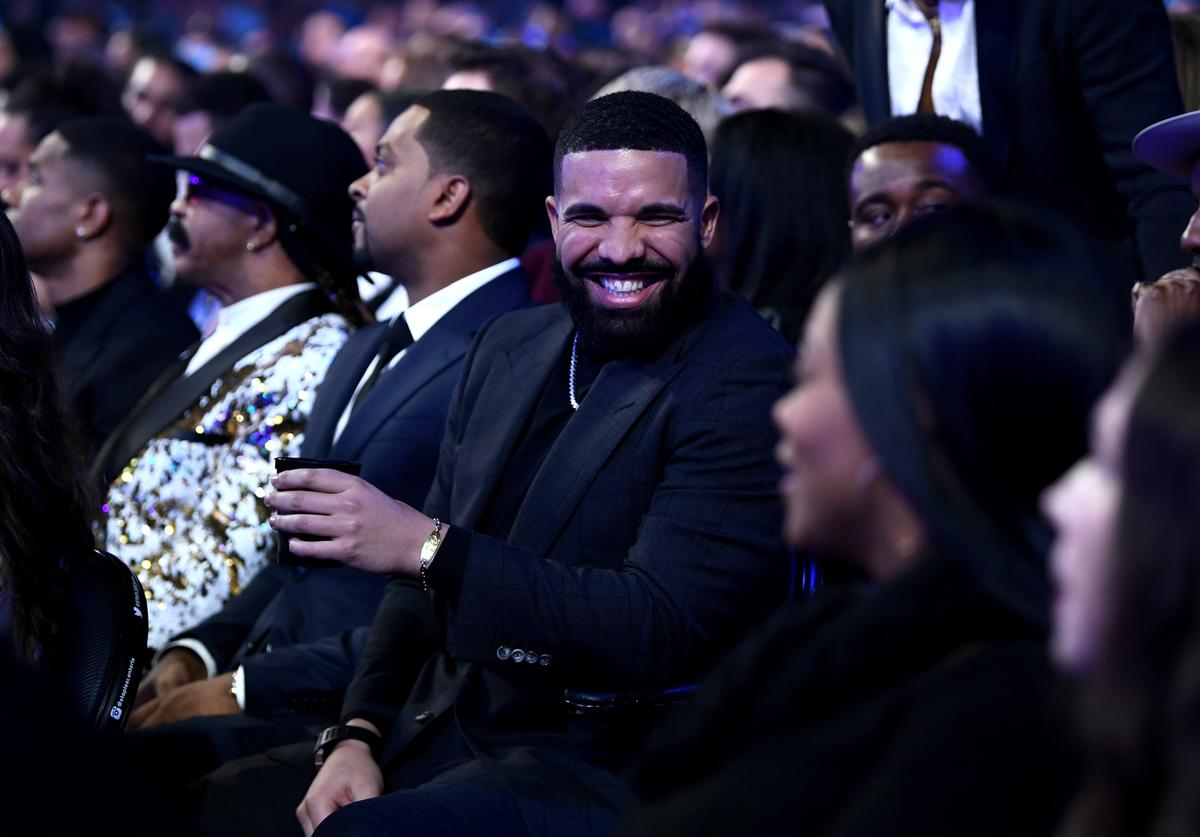 Drake during the 61st Annual GRAMMY Awards at Staples Center on February 10, 2019 in Los Angeles, California.
