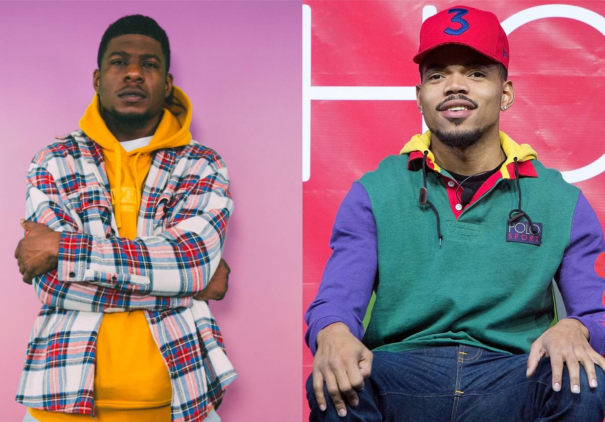 Mick Jenkins and Chance the Rapper rep Chicago