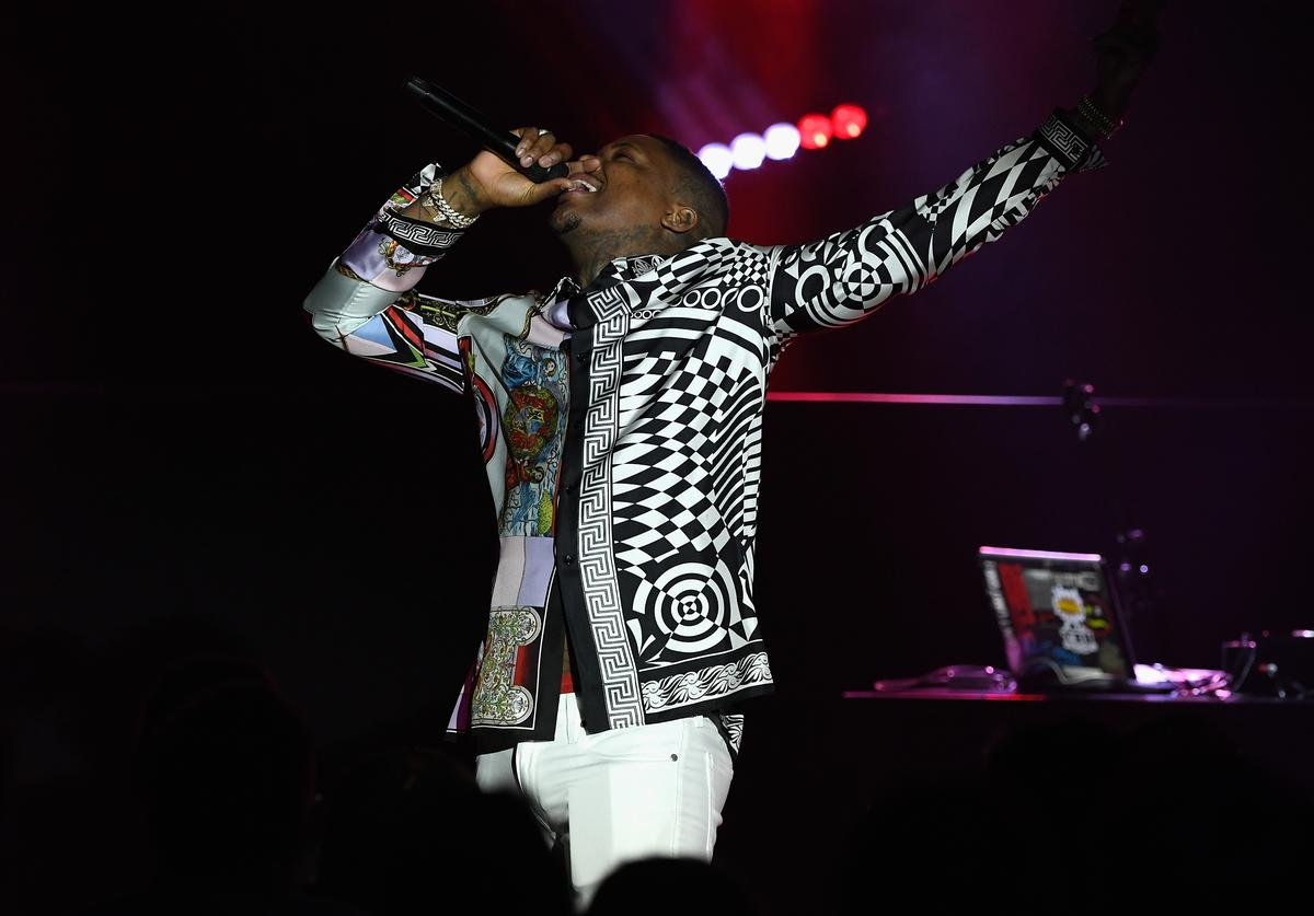 YG performs during Sir Lucian Grainge's 2019 Artist Showcase Presented by Citi at The Row on February 9, 2019 in Los Angeles, California