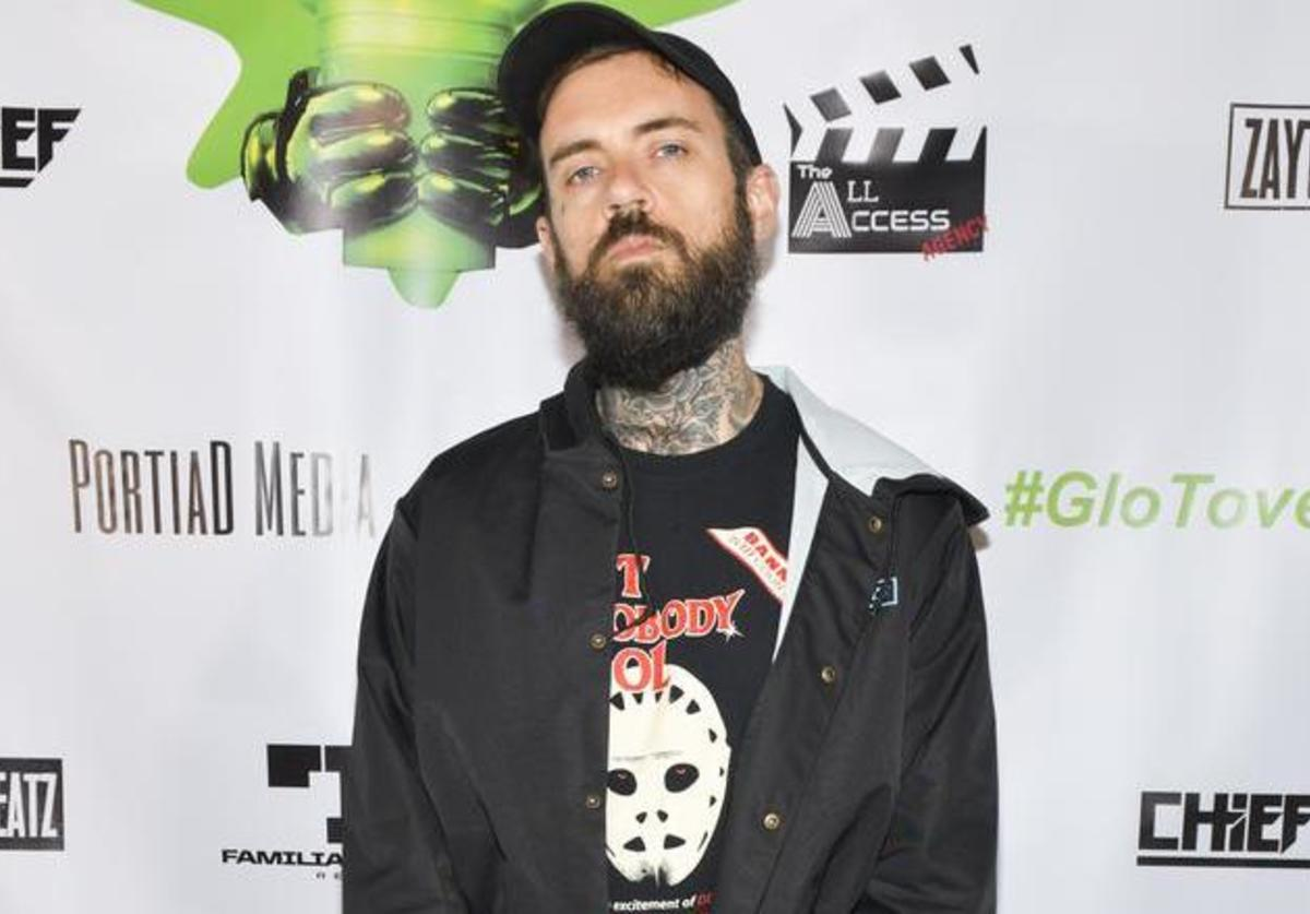 Adam22 attends Chief Keef x Zaytoven GloToven Listening Party hosted by ASAP Bari on March 14, 2019 in Los Angeles, California