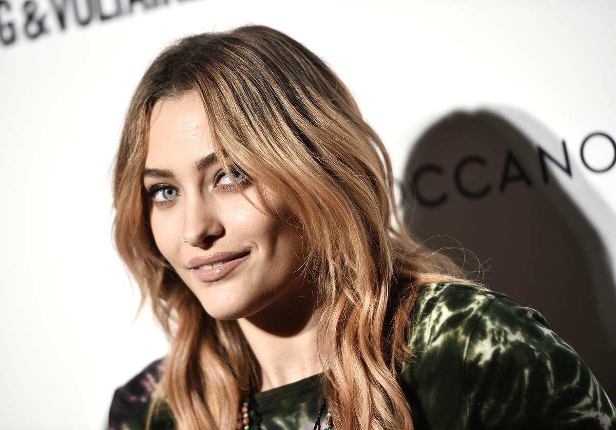 Paris Jackson attends Daily Front Row's Fashion Media Awards presented by Zadig&Voltaire, Sunglass Hut, Moroccan Oil, LIM, Fiji on September 6, 2018 in New York City.