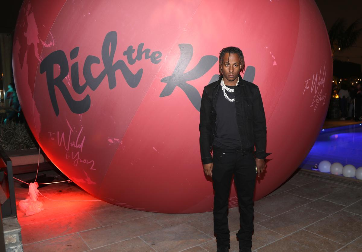 Rich the Kid attends Rich The Kid - The World Is Yours 2 Official Listening Party on March 19, 2019 in Los Angeles, California
