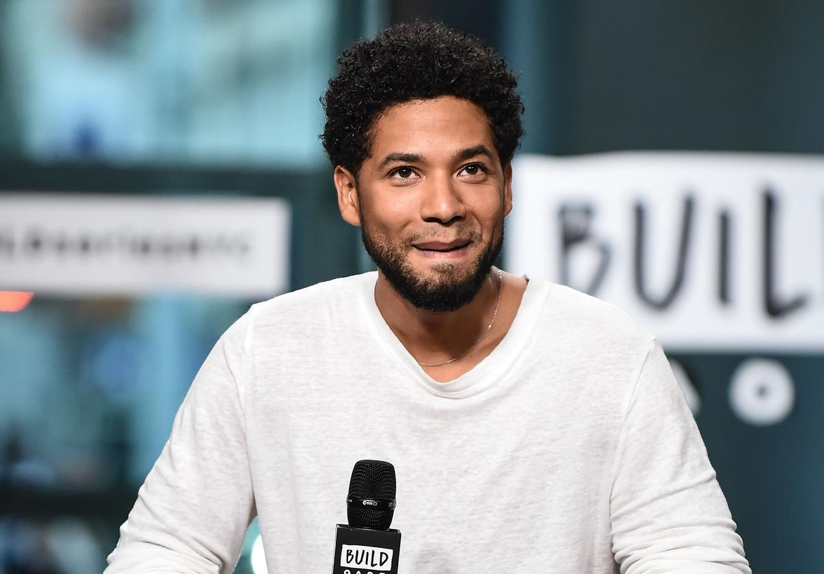 Jussie Smollett attends the Build Series to discuss the show 'Empire' at Build Studio on September 25, 2017 in New York City.