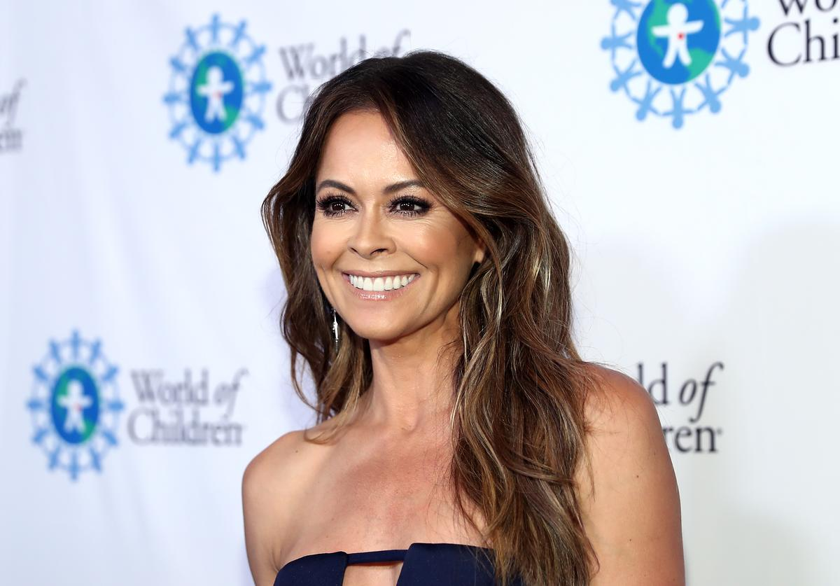 Brooke Burke attends the 2018 World of Children Hero Awards Benefit at Montage Beverly Hills on April 19, 2018 in Beverly Hills, California.
