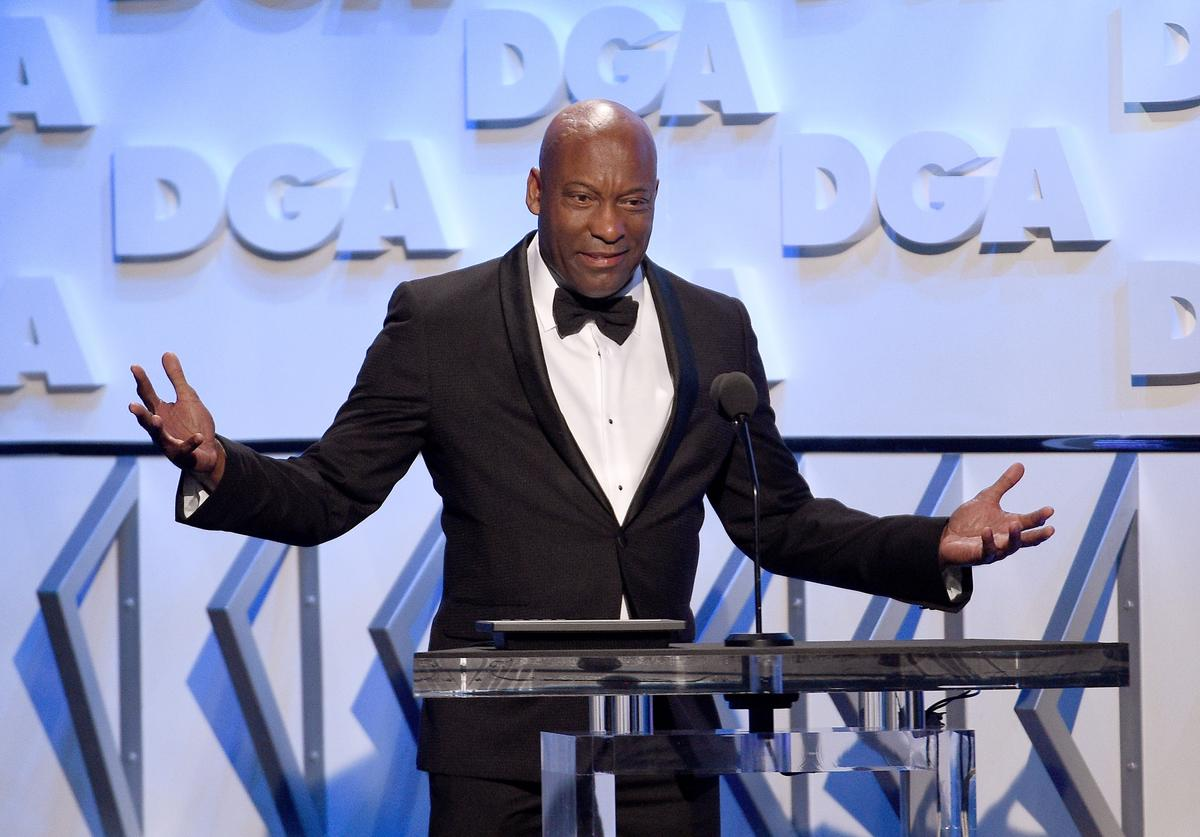 Director John Singleton speaks onstage during the 70th Annual Directors Guild Of America Awards at The Beverly Hilton Hotel on February 3, 2018 in Beverly Hills, California.