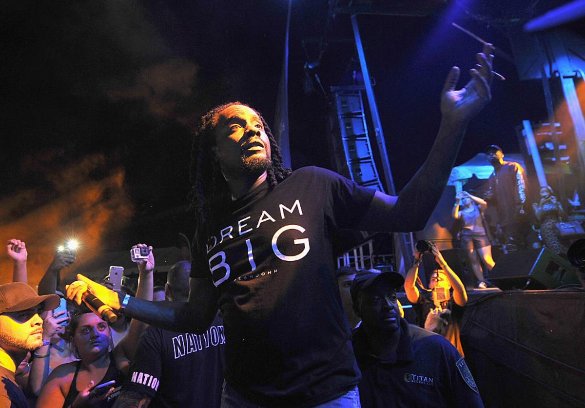 Wale performs onstage during the 2016 Billboard Hot 100 Festival - Day 1 at Nikon at Jones Beach Theater on August 20, 2016 in Wantagh, New York.