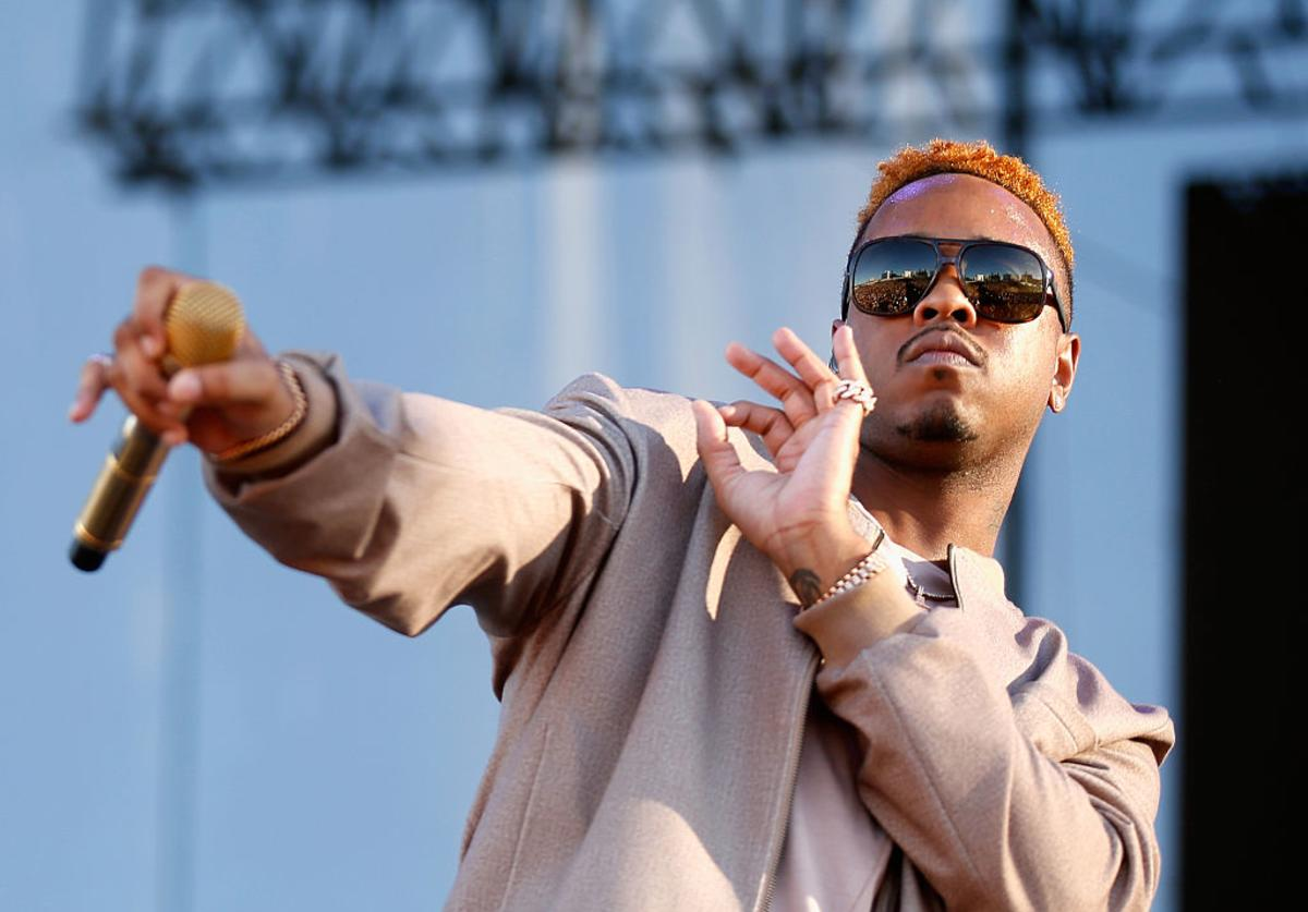 Jeremih performs onstage during the 2016 Daytime Village at the iHeartRadio Music Festival at the Las Vegas Village on September 24, 2016 in Las Vegas, Nevada.