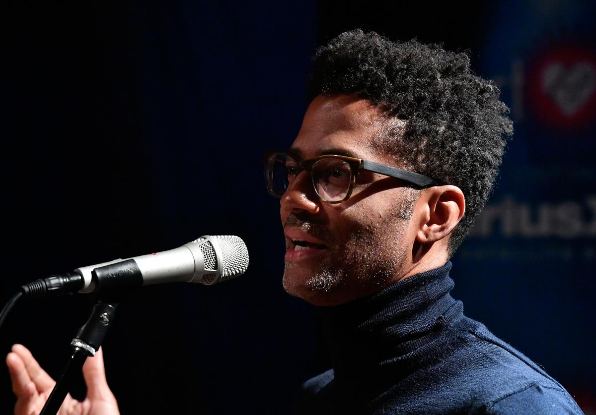 Eric Benet performs on SiruisXM's Heart and Soul