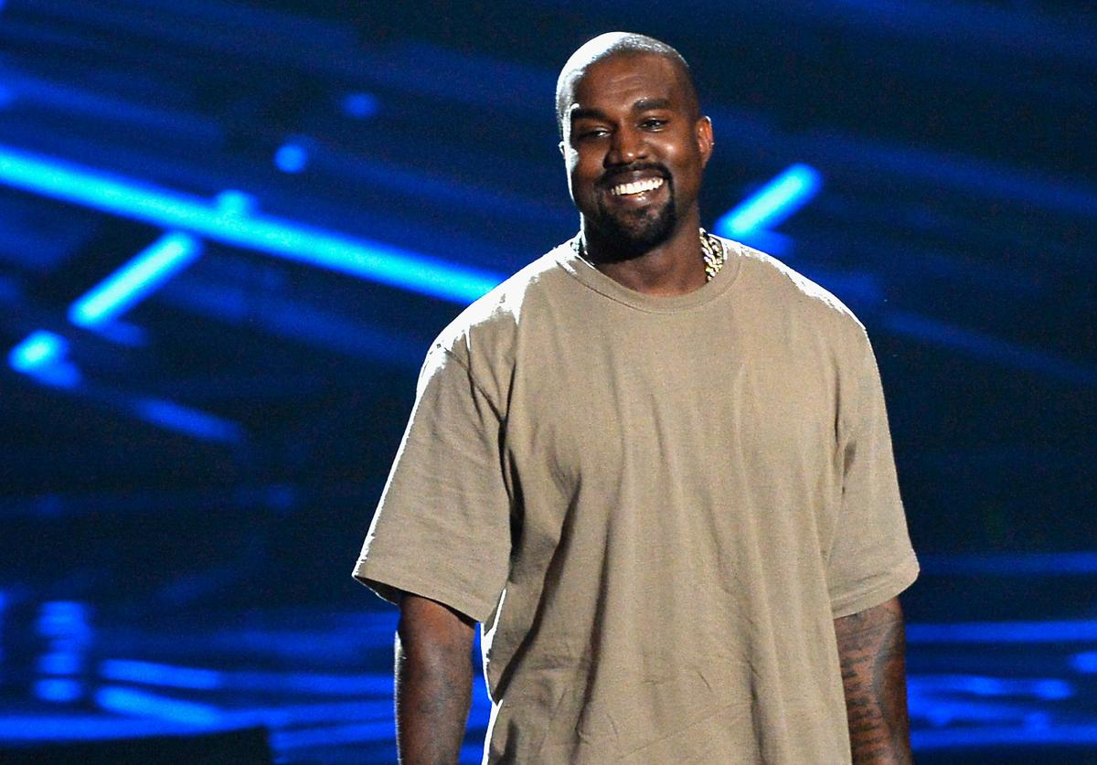 : Vanguard Award winner Kanye West speaks onstage during the 2015 MTV Video Music Awards at Microsoft Theater on August 30, 2015 in Los Angeles, California.