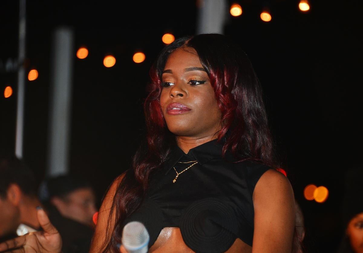 Azealia Banks performs onstage at the OHWOW & HTC celebration of the release of 'TERRYWOOD' with Terry Richardson at The Standard Hotel & Spa on December 7, 2012 in Miami Beach, Florida