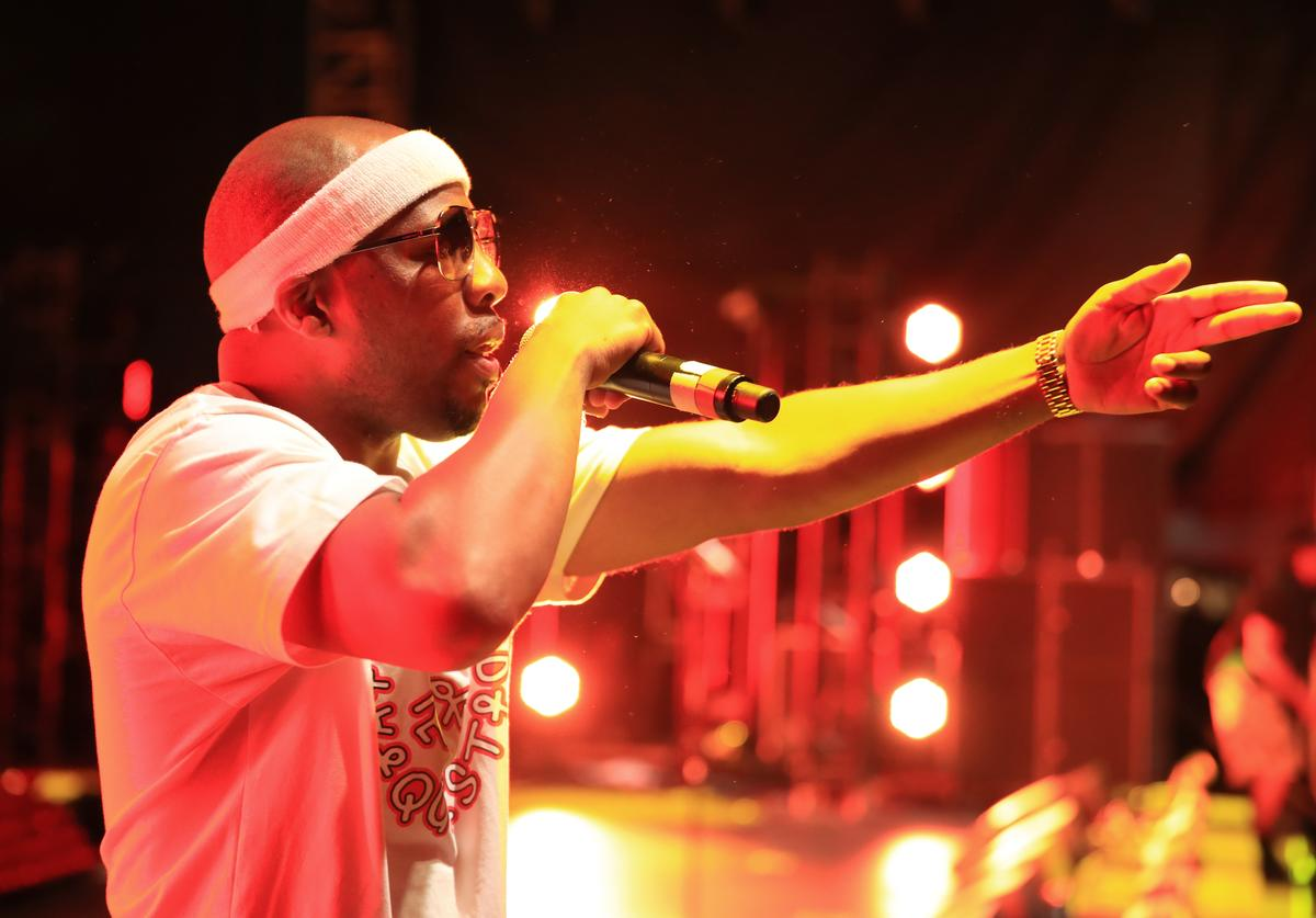 Consequence of A Tribe Called Quest performs onstage during day 2 of FYF Fest 2017 at Exposition Park on July 22, 2017 in Los Angeles, California