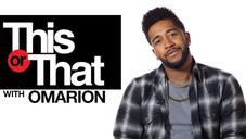 "Omarion Plays ""This Or That"" 