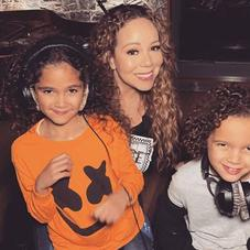 """Mariah Carey Shares """"Mixed-ish"""" Theme Song """"In The Mix"""" Featuring Her Twins"""
