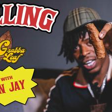 """YN Jay Crafts One Of The Fattest Blunts In """"How To Roll"""" History"""