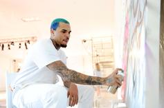 Chris Brown's Andy Warhol Artwork On Sale On Ebay For $500K
