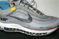 Off-White x Nike Air Max 97 Surfaces In Grey Colorway