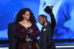"""Rihanna On Kendrick Lamar Pulitzer: """"Keep Showing The Kids That Anything Is Possible"""""""