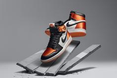 "Air Jordan 1 Satin ""Shattered Backboard"" Official Images Revealed"